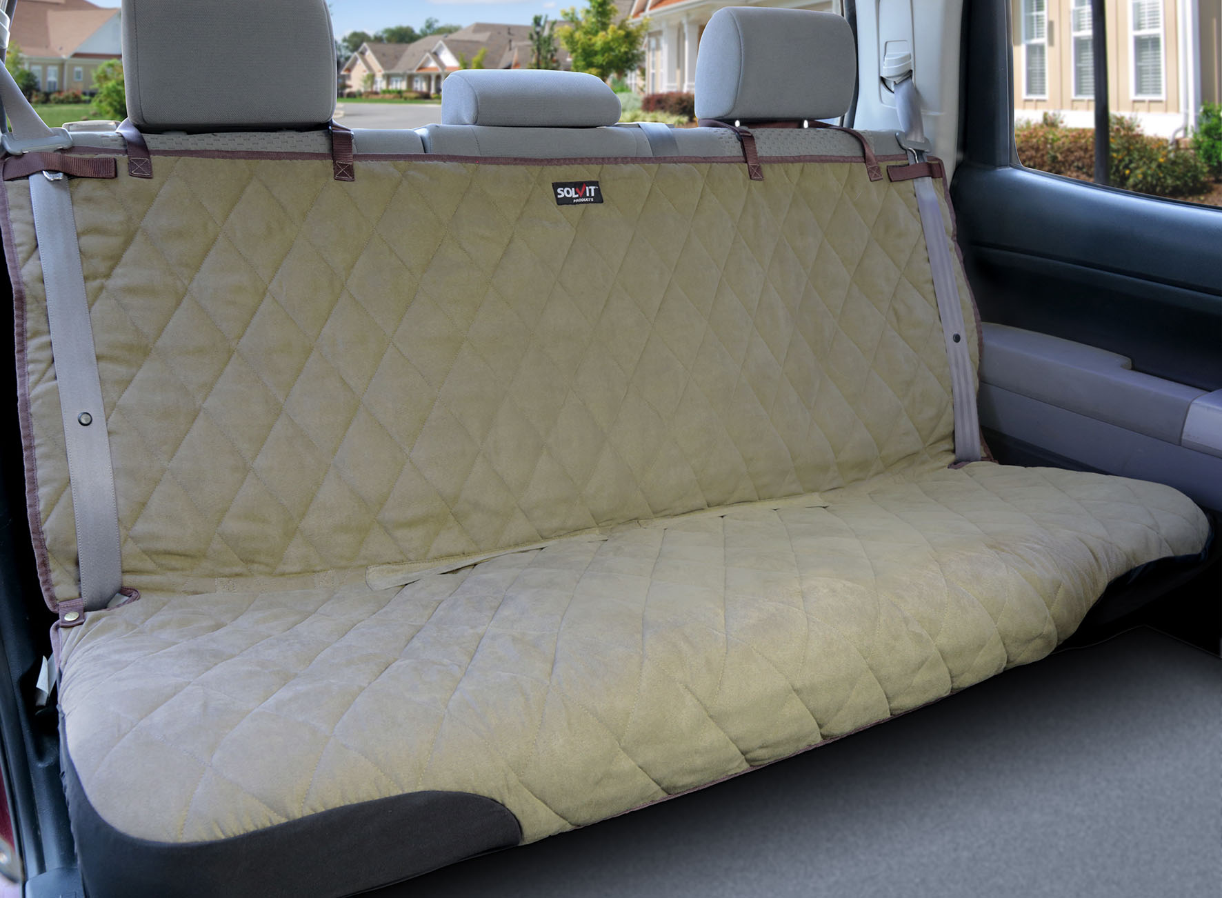 Hammock Deluxe Quilted Pet Seat Cover