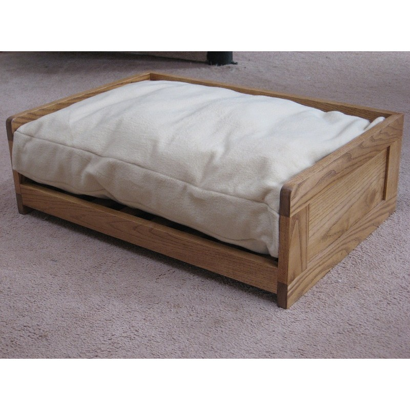 Lovely Ash Wooden Dog Bed SU27