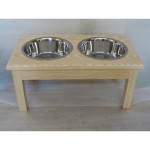 double diner natural finish example