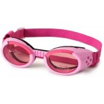 K9 ILS Dog Doggles - Pink with Pink Lens - head & chin straps