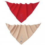 Insect Shield Bandana repellent apparel - in red or tan colors