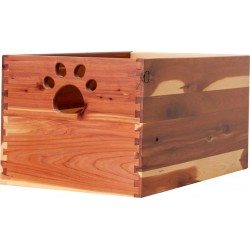Amish made Large Cedar Wood Dog Toy Box