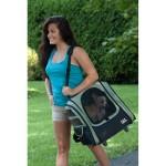 Pet Gear Traveler I-GO2 pet carrier in Sage as a shoulder bag
