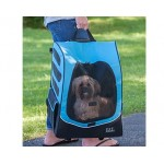 Plus Traveler I-GO2 pet carrier in Ocean Blue as a tote
