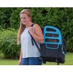 Pet Gear Plus Traveler I-GO2 pet carrier in Ocean Blue as a shoulder bag