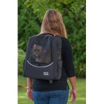 Pet Gear Escort I-GO2 pet carrier in Black as a  backpack