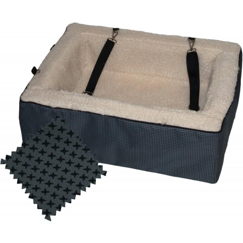 Designer Booster Dog Car Seat Pet Bed | Pet Gear