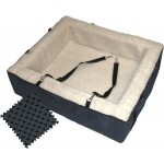 Pet Gear Slate Designer Booster Dog Car Seat Pet Bed - X-Large