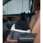 Pet Gear Slate Designer Booster Dog Car Seat Pet Bed in car