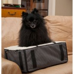 Pet Gear Slate Designer Booster Dog Car Seat Pet Bed on Couch