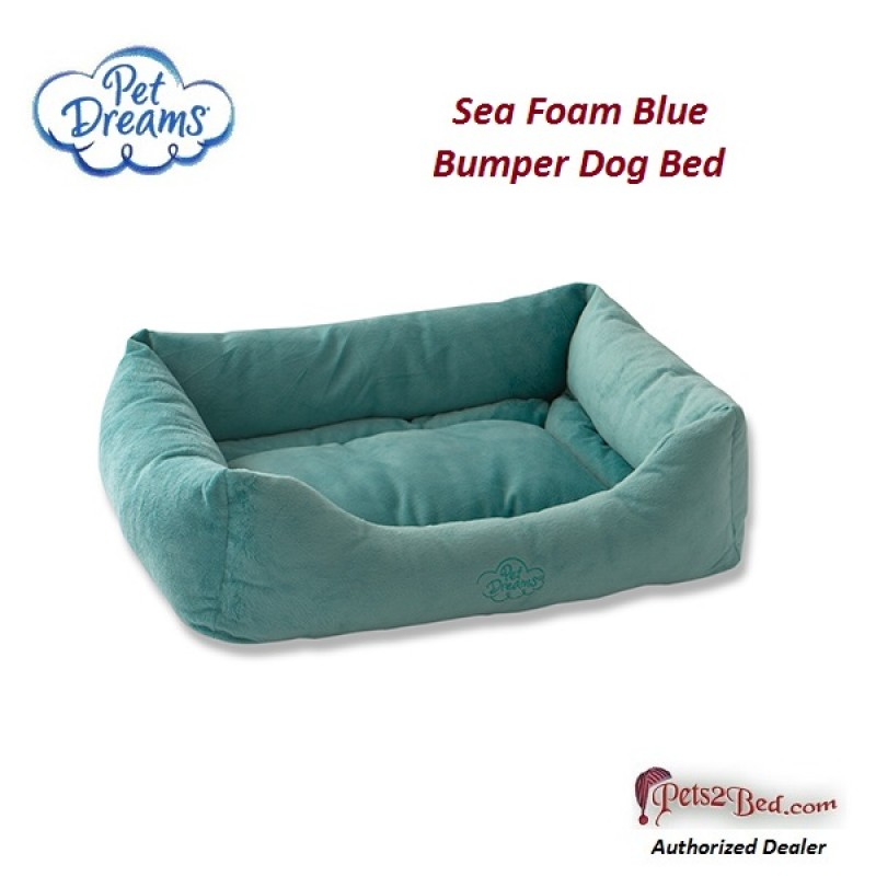 Unique Plush Donut Style Bumper Dog Bed OI39