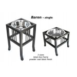 Baron Single Bowl pet feeder available in 3 sizes