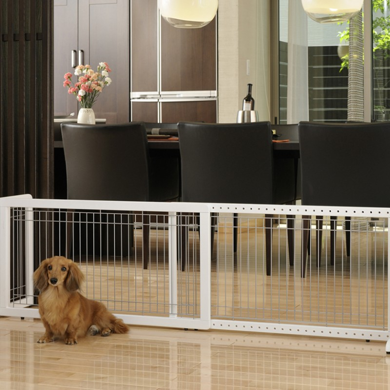 Large Freestanding Pet Dog Gate for wider openings