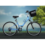 Travelin'K9 Pet-Pilot Bike Basket Carrier is extremely sturdy and stylish