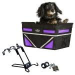 Travelin K9 Black Pet-Pilot MAX Dog Bike Basket Carrier