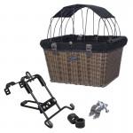 Travelin'K9 Pet-Pilot MAX Wicker Bike Basket with Parts